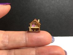 A personal favourite from my Etsy shop https://www.etsy.com/uk/listing/561673722/miniature-micro-dollshouse-for-a