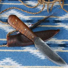 18th Century Reproduction Mountain Man Neck Knife by misstudy                                                                                                                                                                                 More