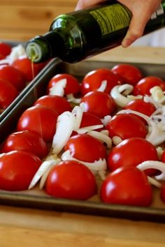 My favorite way to preserve tomatoes for winter- Catherine Newmans Easy Roasted Tomato Sauce