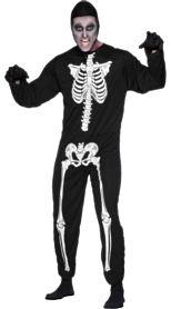 Skeleton Halloween Costume http://www.partypacks.co.uk/skeleton-costume-pid71641.html