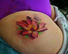 . Lotus Tattoo, Leaf Tattoos, Tatting, Thoughts, Bobbin Lace, Needle Tatting, Lotus Flower Tattoos, Lotus Tat, Ideas
