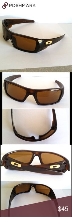 🔶 Unisex Oakley Brown Gascan Sunglasses 🔶 ✔️ Oakley Gascan Sunglasses ✔️ Color: Brown, Rootbeer Bronze ✔️ Model Code: 03-472.  60-16 ✔️ Made in the USA ✔️ Lightweight ❗️ Frame and Lenses are in Fair condition, they have a lot of scratches! (Hence the price)   You can see the condition on last pic). Lenses can be replaced❗️ ❗️No case or cloth❗️  If you have any other questions, please don't hesitate to ask below 📥 Oakley Accessories Sunglasses