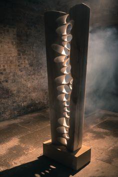Thames — Jordi Raga Foam Carving, Wood Carving Art, Stone Carving, Wooden Art, Wood Wall Art, Abstract Sculpture, Sculpture Art, Madeira Natural, Stone Sculpture
