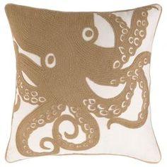 Up Close Octopus Pillow