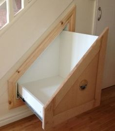Introducing Stairobes the latest innovation for under stairs storage. For anyone with a storage problem and has unused space under the stairs. The unit comes with soft close runners for small units and heavy duty runners for larger storage spaces.