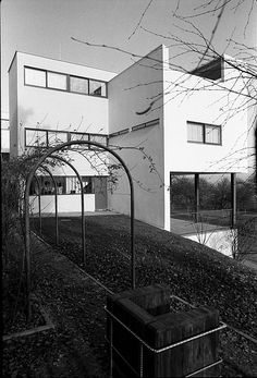 Le Corbusier Weißenhofsiedlung, two family house Stuttgart, Germany 1927