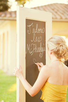 French chalk sign