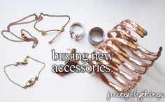 buying new accessories