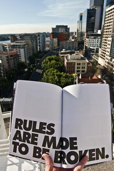 /Exceptions are the tools to break the rules. There is never a rule, without exception, if the rules are without exceptions known as orders.