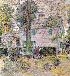 Beautiful Indian Summer In Colonial Days ~ Childe Hassam