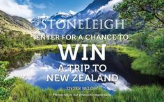 Need A Vacation? Win A Trip To New Zealand - Win A Trip, Need A Vacation, New Zealand Travel, News, Amazing, Pictures, Photos, Drawings