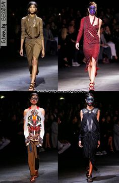I want pretty: Paris Fashion Week Primavera-Verano 2014- Givenchy.