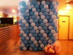 Parede de balões