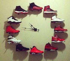 Jordan clock...man cave idea