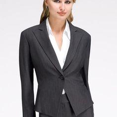 Anne Klein: Jackets & Blazers > Microdot One Button Blazer