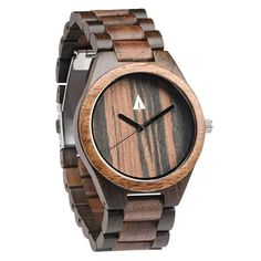 Tree Hut All Wooden Watch | This Tree Hut all wooden watch is handmade in San Francisco from real wood with available engraving.