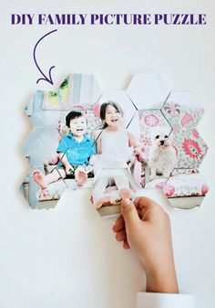 If your kids love putting together puzzles, then this quick and easy DIY project is perfect for you! Use your favorite family picture to create the ideal family game.