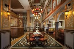 Jumeirah Zabeel Saray Hotel - Dubai Restaurants - Lalezar - Turkish
