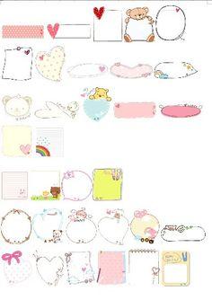 메모지도안 자료 및 편지지 이름표까지! : 네이버 블로그 Doodle Art Drawing, Art Drawings, Diy And Crafts, Doodles, Stickers, Journal Ideas, Donut Tower, Doodle, Decals