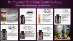 Create Your Own Package! All Products 100% CERTIFIED ORGANIC!