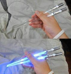 I'd learn to use chopsticks for these!