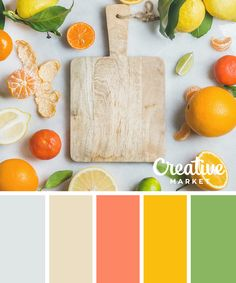 15 Fresh Color Palettes for Spring ~ Creative Market Blog #colorpalette #colourpalette #colorinspiration #colorscheme