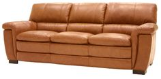 1116 Leather Sofa by HTL