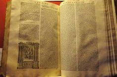 """Due pagine della """"Vita di Giesù Christo"""" di Ludolph von Saxen (1570) (Photo by Franco Rabino) Burlap, Reusable Tote Bags, Rabbi, Hessian Fabric, Jute, Canvas"""