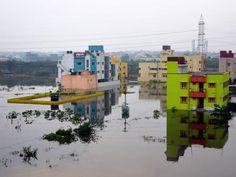 Flooded Chennai