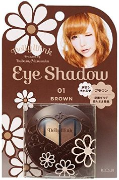 DOLLY WINK Koji Eye Shadow 01 Brown 05 Pound *** Read more reviews of the product by visiting the link on the image.