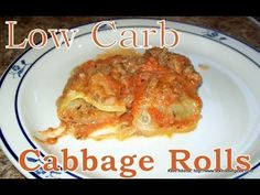 """Atkins Diet Recipes: Low Carb """"Holubets"""" Cabbage Rolls (IF)"""