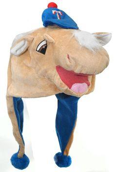Texas Rangers Mascot Themed Dangle Hat