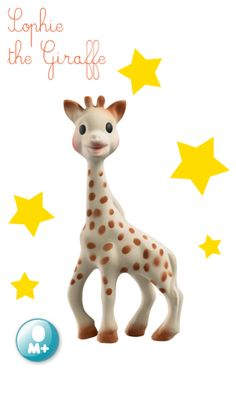 Chances are you'll get this as a shower gift (I've been to showers where baby received multiple Sophies) and for good reason, around 3 months this will be your baby's most treasured possesion. SOPHIE THE GIRAFFE - OFFICIAL - TOYS