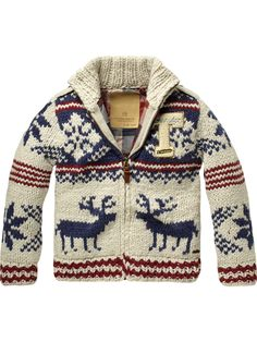 Chunky Hand Knitted Cardigan-have to have this for Harlem!!!