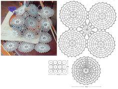 Kira scheme crochet: Scheme crochet no. 1671