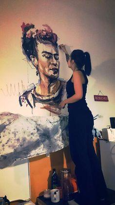 "DECASA Kreativstudio / Carola Deutsch / Austria DESIGN - TATTOO - ATELIER / ""Frida"""