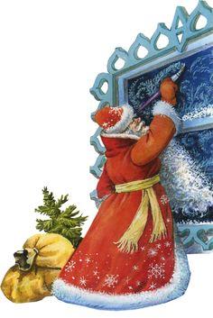 Les preferences de LUSILE - Vintage Santa.