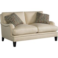 Baker Living Room Churchill Loveseat   Goodu0027s NC Furniture Stores And Furniture  Outlets W X X