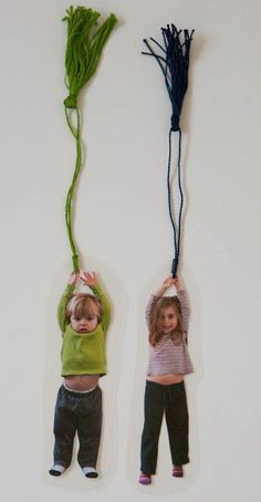 Bookmarks you can make in 10 minutes. Love the photo ones.