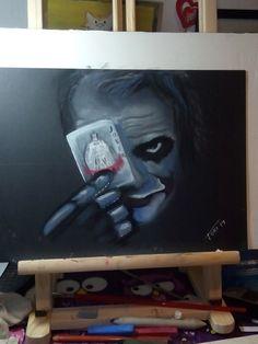 Joker, pastel
