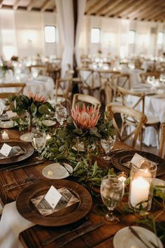 Lush and Lovely Protea Inspired Wedding at White Willow Farms (Junebug Weddings) Second Weddings, Our Wedding Day, Farm Wedding, Wedding Blog, Wedding Venues, Marquee Wedding Inspiration, Willows Farm, Pronovias Wedding Dress, Relaxed Wedding