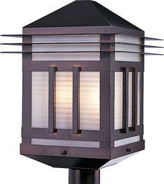 Maxim 8725 Gatsby 2 Light Outdoor Post Light Burnished Outdoor Lighting Post Lights Single Head Post Lights
