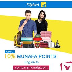 Earn up to 10% #MunafaPoints . Log on to #Comparemunafa.com