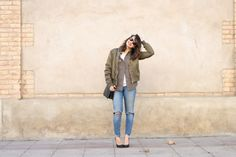 #blogger #fashion #bomber #look #streetstyle