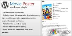 CodeCanyon - Movie Poster - Wordpress Plugin | 795 KB