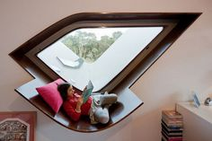 Awesome take on a reading nook!