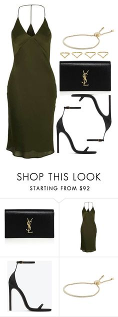 """""""Sin título #11915"""" by vany-alvarado ❤ liked on Polyvore featuring Yves Saint Laurent, Topshop, Michael Kors and Ana Khouri"""