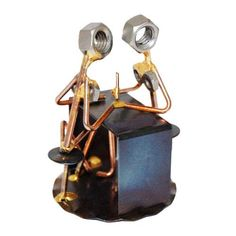 The Incredible Handcrafted Wirecraft Figurine Is A Must Have For Nail Techs Everywhere This Unique Technician Gift Made Entirely From Copper And
