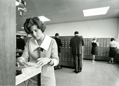 card catalog at St. Index Cards, St John's, Colleges, Libraries, Bookshelves, 1960s, Catalog, The Past, University