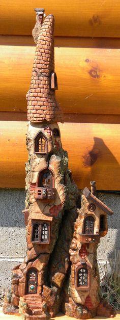 Wee Folk Castle by *ForestDwellerHouses on deviantART